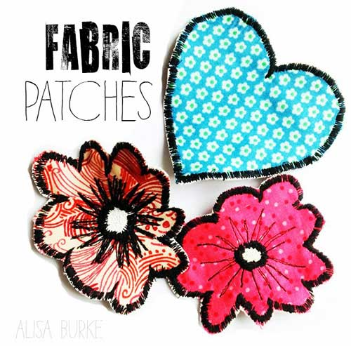 Free Sewing Pattern and Tutorial - Fabric Patches Tutorial