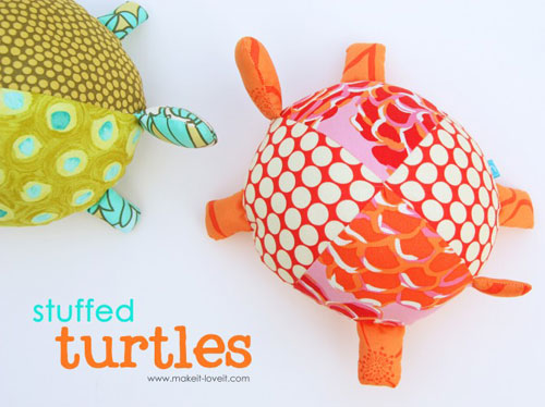 Stuffed Fabric Turtles – Free Sewing Pattern | Love to Sew