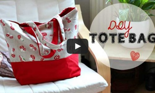 Video Tutorial: How to make a simple Tote Bag