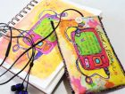 Free Sewing Project: Small Media Case