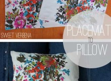 Placemat Pillows – Free Sewing Tutorial