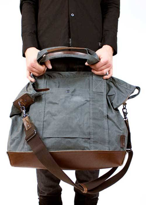 This large versatile tote bag is perfect for a quick weekend trip or excursion