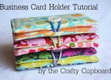 Fabric Business Card Holder – Free Sewing Tutorial