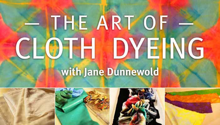The Art of Cloth Dyeing: Online Class