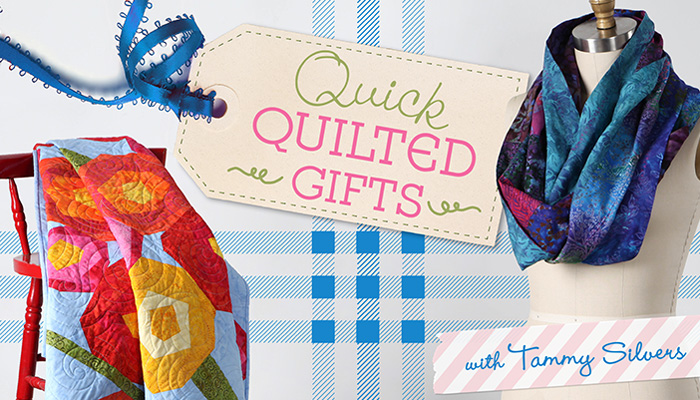 Make quilted infinity scarves, table runners, wall hangings and lap quilts customized for anyone or any celebration.
