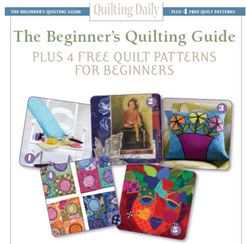 Free eBook - The Beginner's Quilting Guide