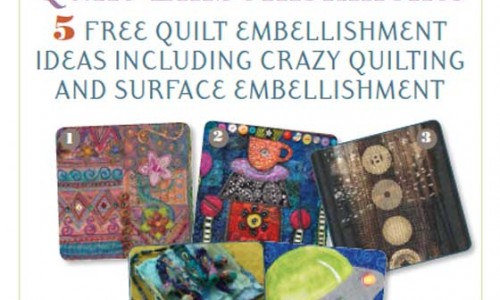 Free eBook: Quilt Embellishments