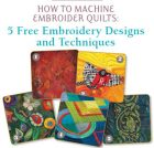 Free eBook: How to Machine Embroider Quilts