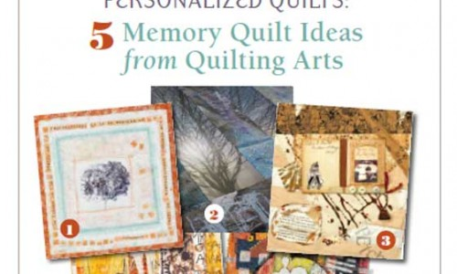 Free eBook: Making Memory Quilts and Personalized Quilts