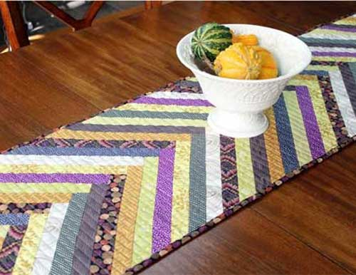 Herringbone table runner free quilting tutorial love to sew free sewing pattern and tutorial herringbone table runner tutorial watchthetrailerfo