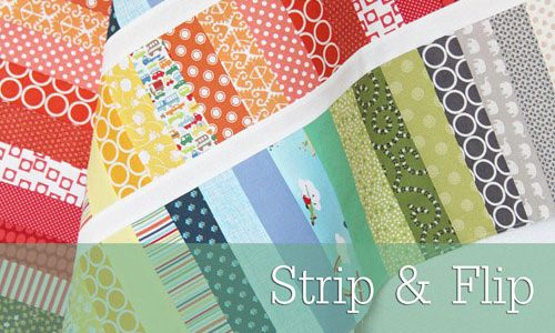Strip and Flip Baby Quilt – Free Quilt Pattern