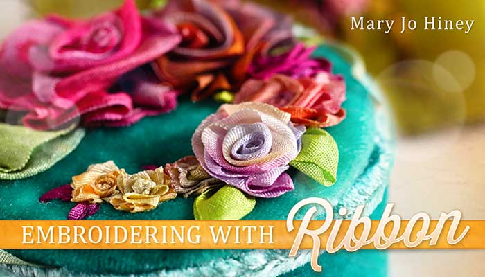Embroidering With Ribbon Online Sewing Class
