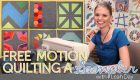 Free Motion Quilting a Sampler: Online Class
