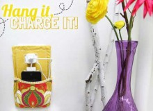 Hang it, Charge it Phone Pocket  – Free Sewing Tutorial