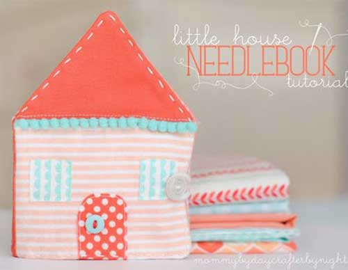 This cute little house needlebook is quick and easy to make and is the perfect handmade gift.
