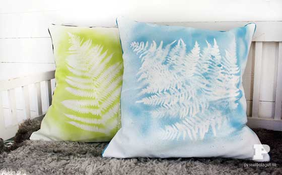 How to Spray Paint Designs on Fabric
