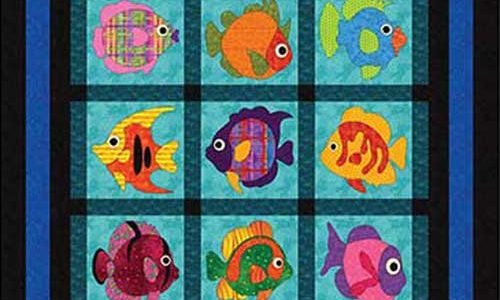 Wonderfully Fishy Quilt Pattern