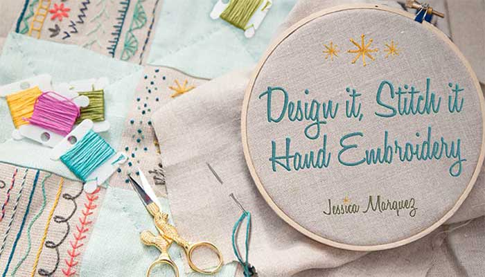 Design It Stitch It Hand Embroidery Online Class Love To Sew