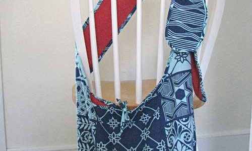Slouch Bag – Free Sewing Tutorial