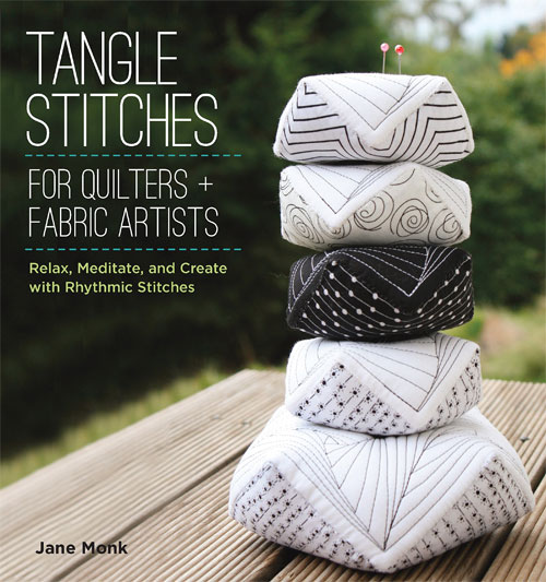 Learn how to create tangle patterns on paper and then how to create the same patterns in thread,