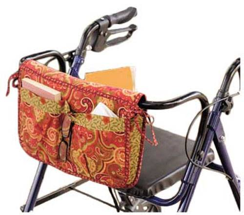 These bags are perfect for anyone who uses a wheelchair or walker