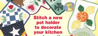 A Year of Pot Holders Sewing Patterns