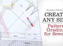 Create Any Size: Pattern Grading for Sewers Online Class