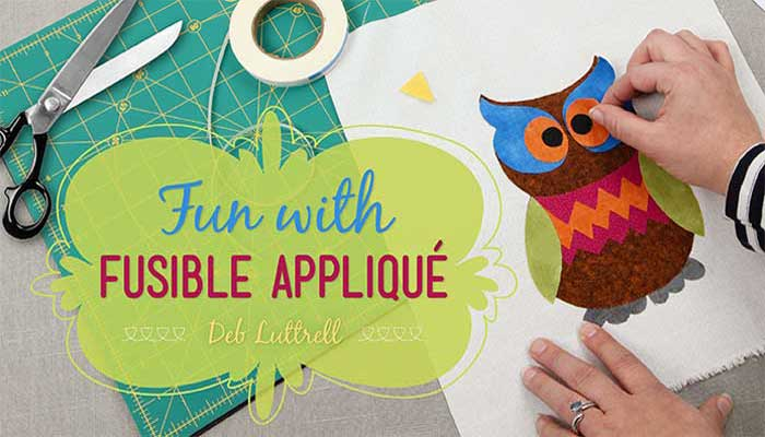 Fun With Fusible Applique: Online Class
