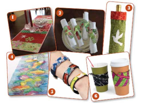 Free eBook: 6 Free Homemade Gift Ideas for Art Quilters