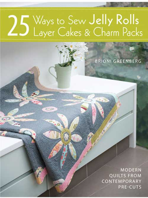 Create stunning, contemporary quilts from gorgeous precut fabric bundles.