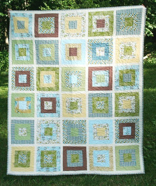 Mary's Wedding Quilt – Free Quilting Tutorial