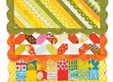 Scrappy Placemats Sewing Pattern