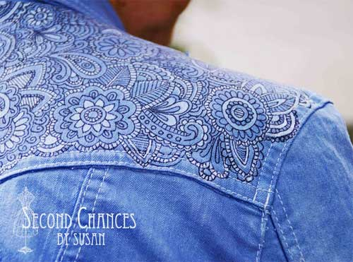 How to Tattoo a Denim Jacket   Love to Sew