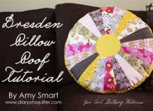Dresden Pillow – Free Sewing Tutorial