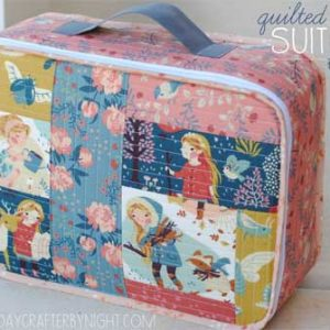 Quilted Suitcase – Free Sewing Tutorial