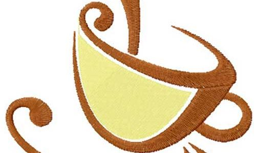 Coffee Cup – Free Embroidery Design