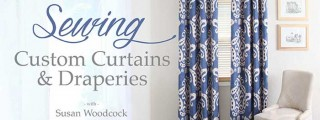 Sewing Custom Curtains & Draperies Online Class