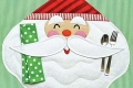 Merry Santa Placemat Sewing Pattern