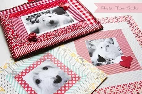 Mini Photo Quilts – Free Quilting Tutorial