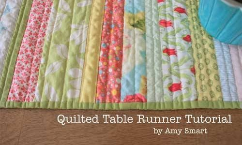 Quilted Table Runner – Free Quilting Tutorial