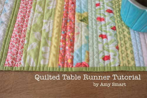 Quilted Table Runner - Free Quilting Tutorial : free quilting - Adamdwight.com