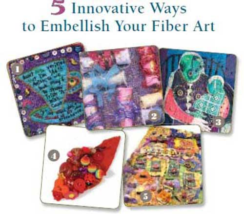 Free eBook: Quilt Embellishment Techniques