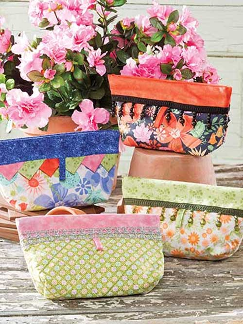 These charming little bags are fun and easy to make.