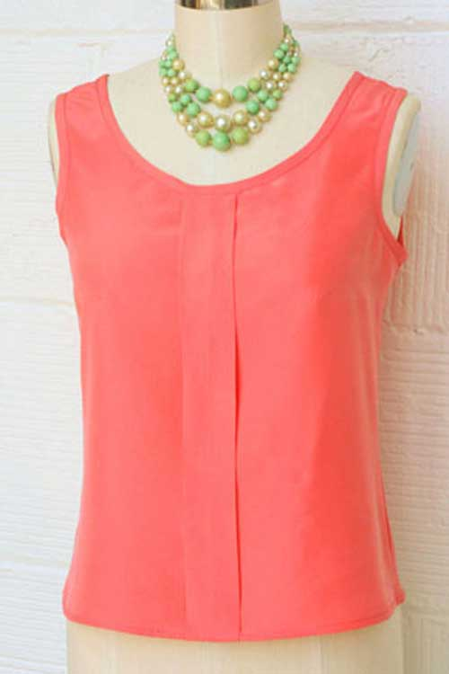 Sorbetto Top - Free Sewing Pattern - Love to Sew