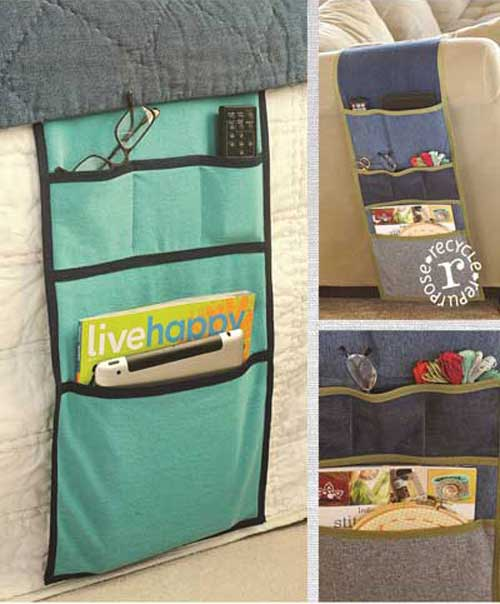 Organize your sewing room or any other room in the house with this over-the-arm organizer.