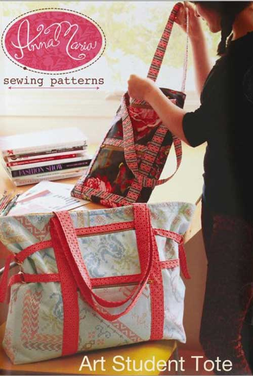 This versatile bag is loaded with pockets and is perfect for artists, quilters, and sewers.