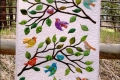Birds of a Feather Quilted Wall Hanging Pattern