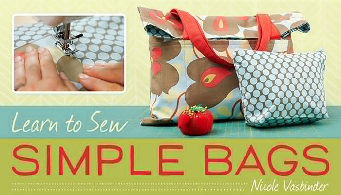 Create two cute styles of bag as you learn basic skills for projects that will make you proud.