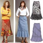 Patchy Skirts Sewing Pattern