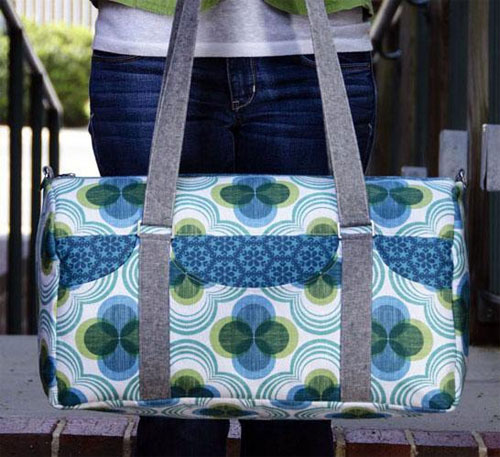 This duffle bag is a great getaway bag for a weekend out of town.